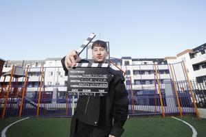Role model: Barry Keoghan at the launch of the 2020 Coca-Cola Thank You Fund in Dublin in February. Photo: Photocall Ireland