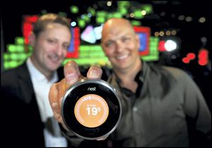 Tony Fadell, CEO of Nest with Jim Dollard, Executive Director of Electric Ireland