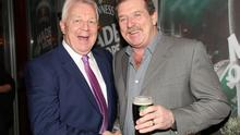 DS Jim Browne with Steve Collins