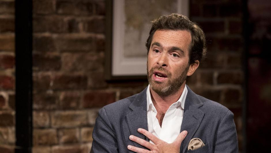 Pierre Louis Baudey-Vignaud pictured at The Late Late Show in RTE, Dublin with host Ryan Tubridy. Picture Andres Poveda