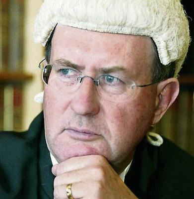 High Court judge Mr Justice Brian McGovern