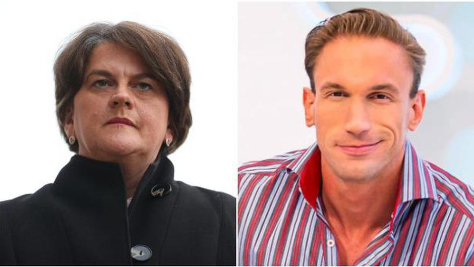 Arlene Foster has launched legal proceedings against Christian Jessen.