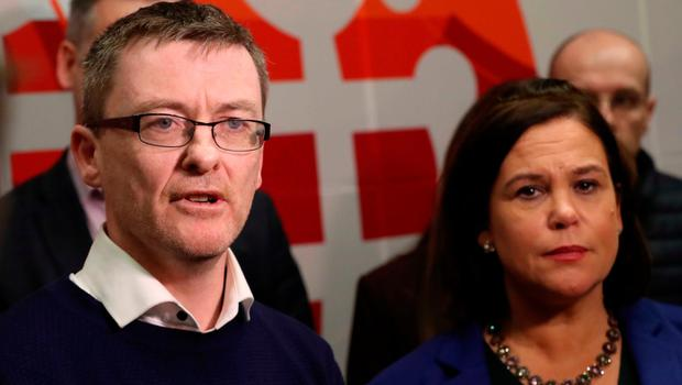 Left out: David Cullinane has been excluded from the negotiating team. Picture: PA