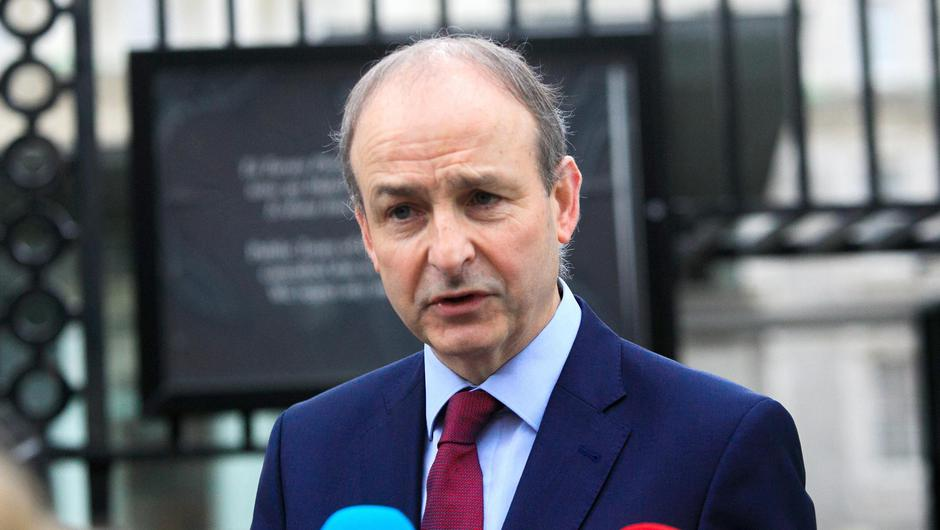 Taoiseach Micheal Martin. Photo: Gareth Chaney/Collins