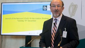 Brian MacCraith is head of the High-Level Task Force on Covid-19 Vaccination. Photo: Gareth Chaney/Collins
