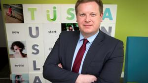 Tusla's Director of Quality Assurance Brian Lee