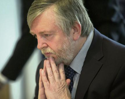 Peter Tyndall, the Ombudsman for the HSE. Photo: Mark Condren