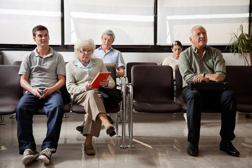 "Nearly 40,000 people are ""no shows"" at outpatient appointments every month. Picture posed"