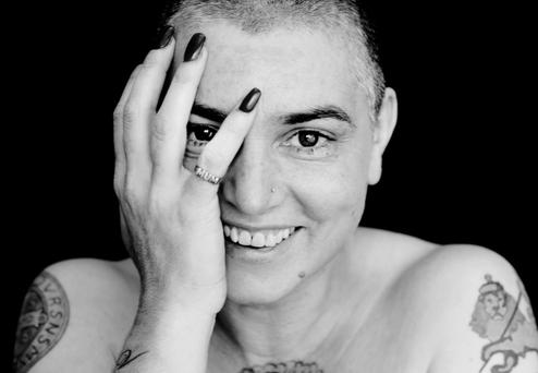 NOTHING COMPARES: Singer and songwriter Sinead O'Connor has had mixed reactions to her lengthy posts on Facebook last week