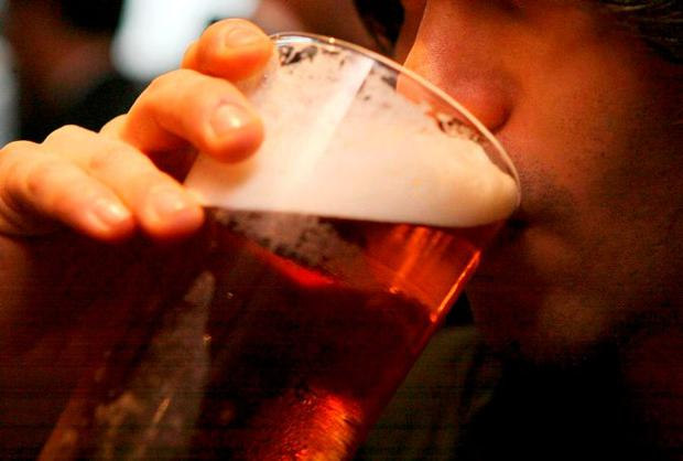 The goal is to reduce average annual alcohol consumption in Ireland from 11 to 9.1 litres per person, per year, by 2020. Photo: PA