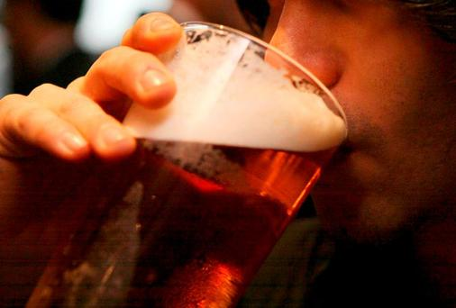 Is drinking really woven so deeply into our social fabric that the choice not to do it is holding people back? Photo: PA