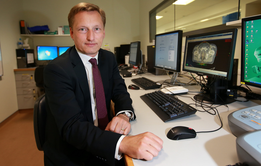 Dr Jerome Coffey, director of the National Cancer Control Programme. Photo: Frank McGrath