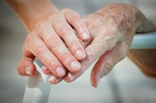 Ageing demands expensive care and health provision and that is where the difficulty arises. (stock photo)