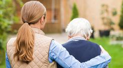 The need for 24-hour care for elderly people with physical health problems as their bodies slow down means a nursing home is often the only choice. Stock picture