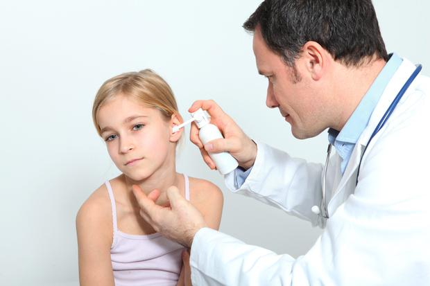 The firm is marketing a device for the placement of ear tubes (grommets) in children without requiring general anaesthetic. (Stock picture)