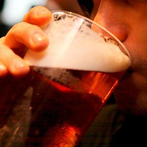 Three pints of beer or two large glasses of wine each day can push drinkers towards early dementia. Stock photo: PA