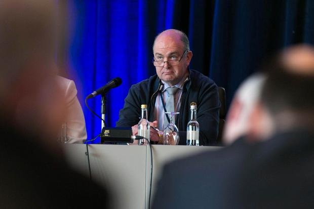 Dr Peadar Gilligan warned the medical service is in crisis. Photo: Shane O'Neill