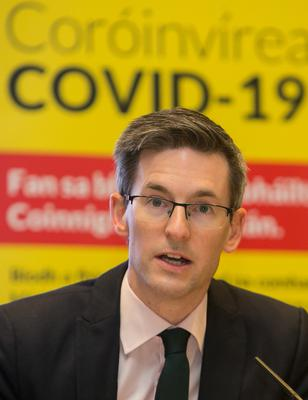 Dr Ronan Glynn hopes we have passed the worst for 2021, but cautioned that the drive to reduce transmission rates must remain steadfast. Photo: Gareth Chaney/Collins