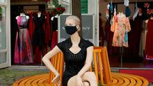 A fashion shop mannequin in Berlin. Photo: Sean Gallup/Getty Images