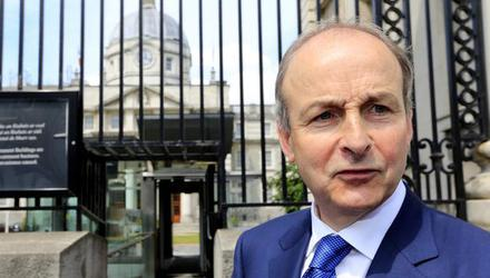 Taoiseach Micheál Martin. Photo: Gerry Mooney