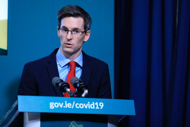 Deputy chief medical officer Dr Ronan Glynn. Photo: Julien Behal Photography/PA Wire