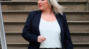 Northern Ireland's Deputy First Minister Michelle O'Neill. Photo: Brian Lawless.
