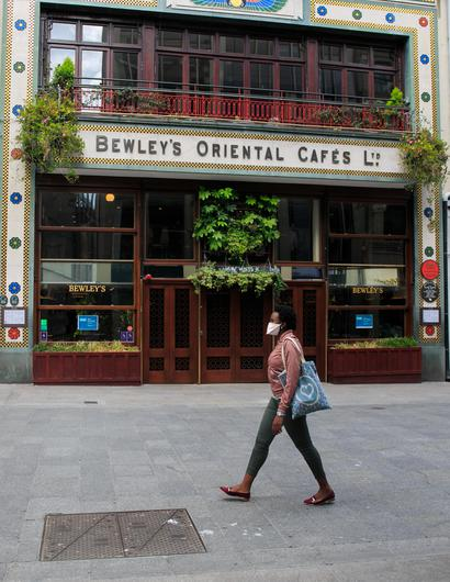 Bewleys Cafe on Grafton  Street, Dublin, which is to close.