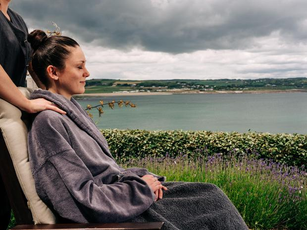 A spa treatment at the Cliff House Hotel, Ardmore, Co Waterford