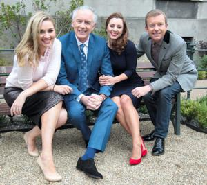 Ireland Am presenters Anna Daly, Mark Cagney, Sinead Desmond and Alan Hughes