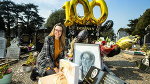 Lavinia Donovan, granddaughter of the late 'Queen of Moore Street' who would have celebrated her 100th birthday. Photo: Mark Condren