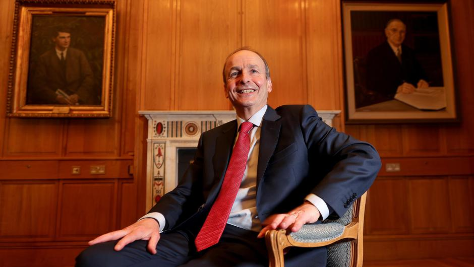 Micheál Martin Picture by Gerry Mooney
