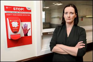 Aoife Cotter Consultant in Infectious Diseases and Clinical Lead for the National Isolation Unit at the Mater Hospital.