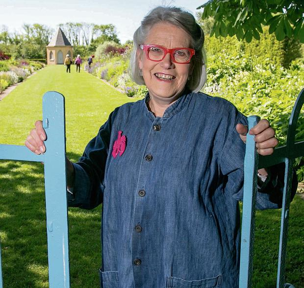 Chef and food writer Darina Allen at home in the gardens of Ballymaloe Cookery School at Shanagarry, Co Cork.