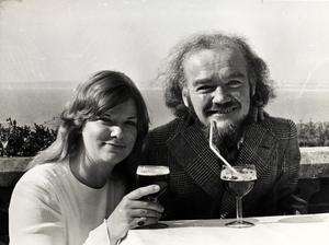 Christy Brown and Mary Carr