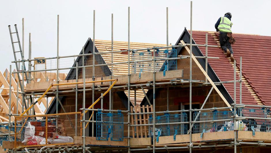 In demand: House building has slowed during the pandemic. Photo: Gareth Fuller