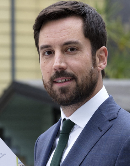 Former Housing Minister Eoghan Murphy resigned his seat as a TD today. Photo: Arthur Carron.