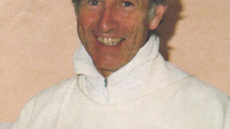 Fr Niall Molloy pictured shortly before his death