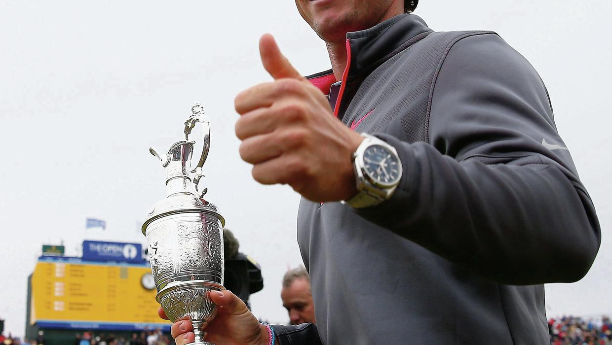 Claret And Banter >> Home crowd jubilation as McIlroy lifts Claret Jug - Independent.ie