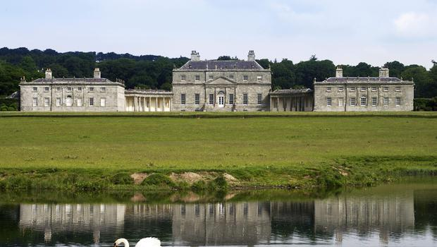 Russborough House, close to Blessington in Co Wicklow