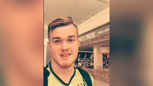 Police believe Jake Bailey-Sloan was assaulted at around 1.40am on Sunday