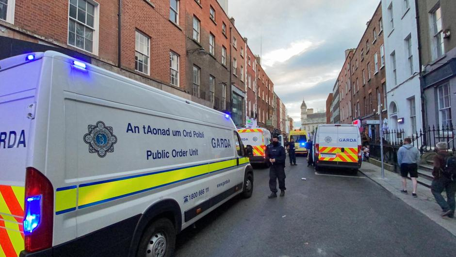 South William Street in Dublin, Friday June 4 2021 Photo: Gerry Mooney