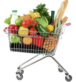 Advice: Up your veggie consumption to five a day, as well as two fruits