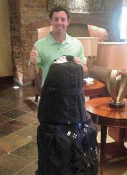 "Rory McIlroy Tweeted: ""Re-@United with my clubs!"""