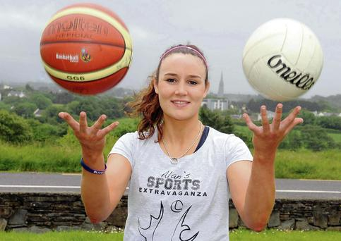 Dual sports star, Louise Galvin, is organising Alan's Sports Extravaganza in memory of her boyfriend. Photo: Eamonn Keogh
