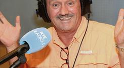 Brendan O'Carroll of Mrs Brown's Boys who was guest host on the Marian Finucane show at the weekend
