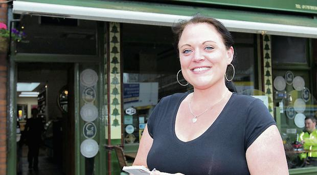 Melanie Berry from the Cheese Pantry in Drumcondra, which fears lost business due to the cancelled concerts