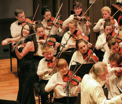 The Cross Border Orchestra of Ireland who are running a contest which will we see one lucky musician win the chance to perform at Carnegie Hall in New York