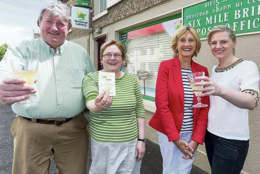 Staff of Reddan's Store and Post Office in Sixmilebridge