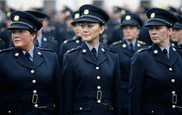 A garda graduation ceremony at the force's training college in Templemore. Arthur Ellis/Press 22