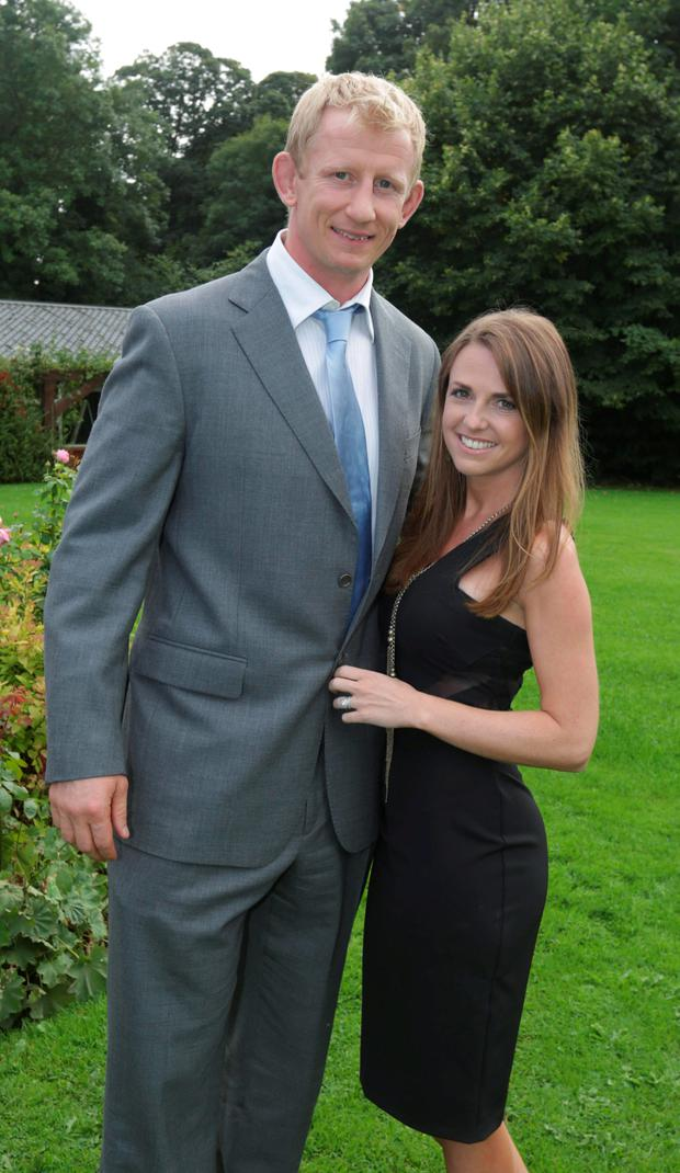 Expecting: Leo Cullen and wife Dairine Kennedy